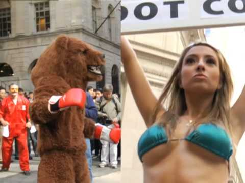 Bear vs. Bull on Wall Street!