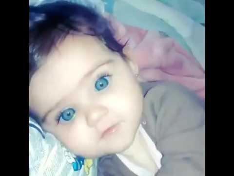 cute baby girl with blue eyes youtube