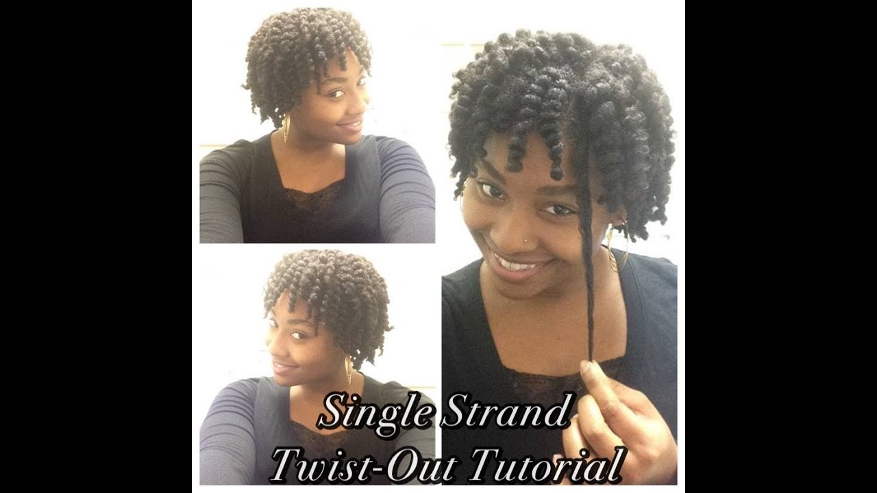 How To Single Strand Twist Out On 4C Hair As Told By Her