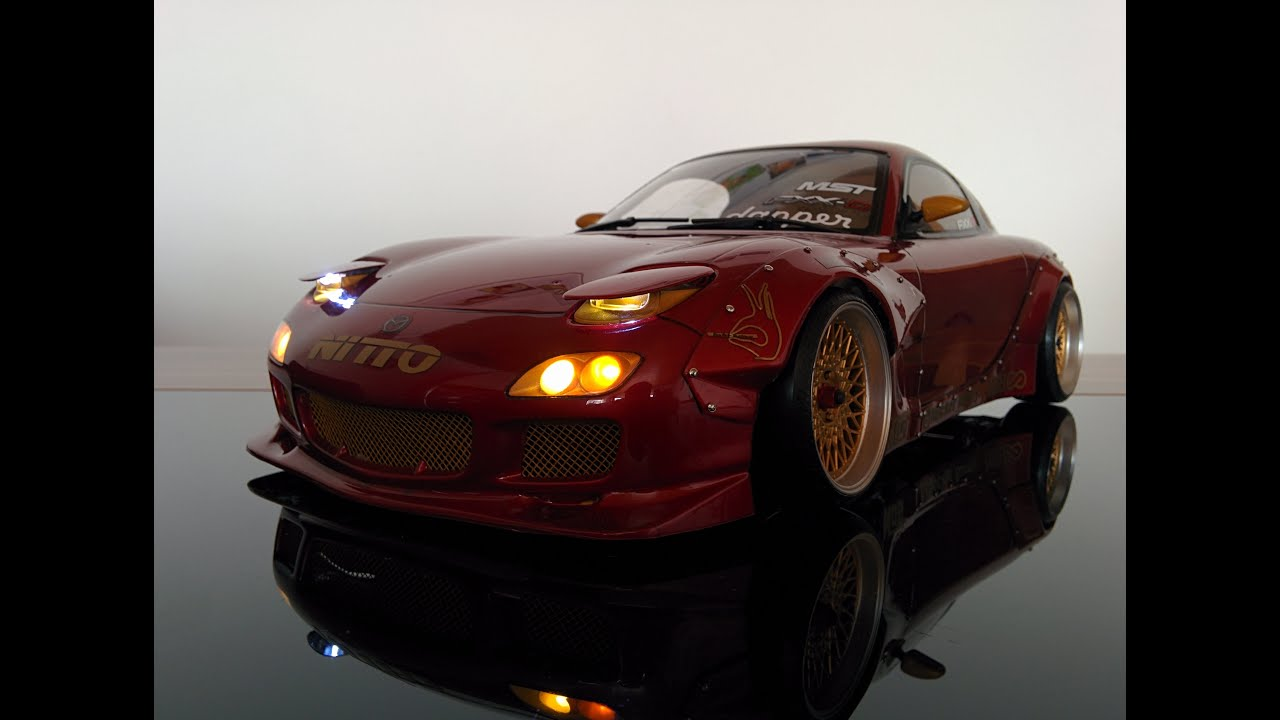 Tamiya Rx7 With Demi Works Rocketbunny