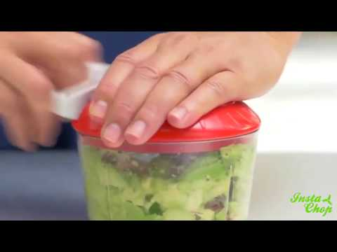 The Instant Food Chopper Hand Held Kitchen Gadget
