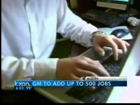 GM to bring 500 IT jobs to Austin - 6 pm News