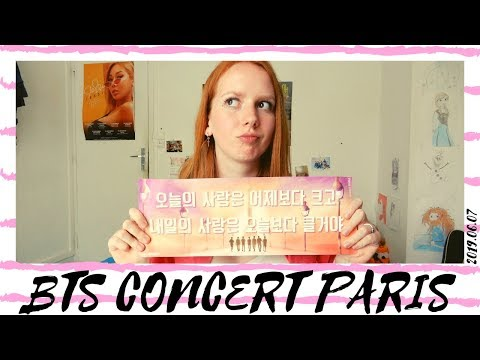 Reacting to my BTS concert videos (07.06.2019 @stadedefrance) (part3)