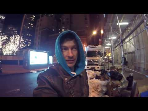 Дампстер дайвинг в Нью-Йорке