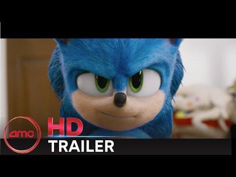 SONIC THE HEDGEHOG - Official Trailer (Jim Carrey, Ben Schwartz) | AMC Theatres (2020)