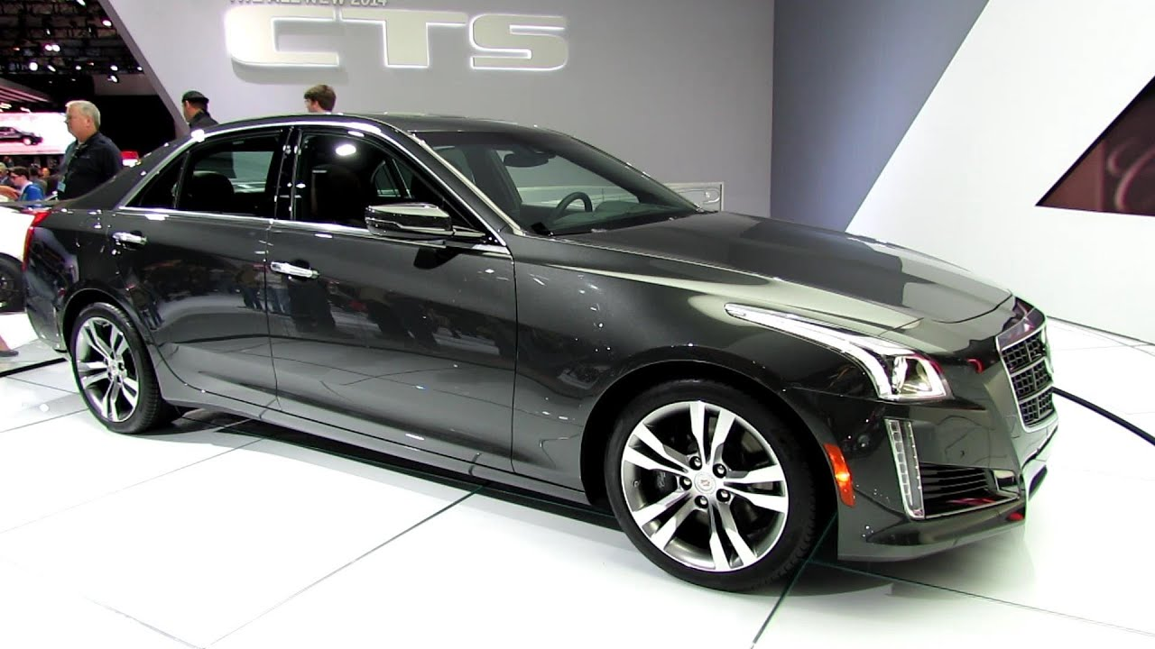 2014 Cadillac CTS V  Sport   Exterior Walkaround   2013 New York Auto Show    YouTube