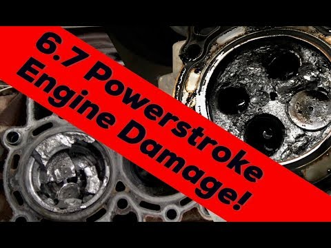 CATASTROPHIC ENGINE FAILURE| 2011 Ford 6.7 Powerstroke V8 Turbo Diesel engine