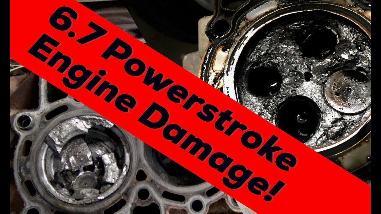 6 7 Powerstroke Problems >> Catastrophic Engine Failure 2011 Ford 6 7 Powerstroke V8 Turbo Diesel Engine