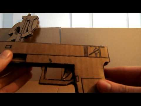 how to make a cardboard m4a1
