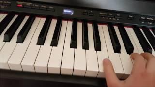 """Как научится играть мелодию ИЗ """"ГАРРИ ПОТТЕРА"""" на ФОРТЕПИАНО."""