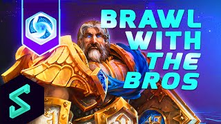 Heroes of the Storm Gameplay | Brawl With The Bros 29 | MFPallytime & Hengest | HoTs | TGN