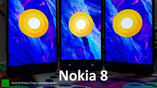 Nokia 8 official Android Oreo 8.0.0 Update vs Nougat 7.1.1 Performance & Benchmark Comparison !!