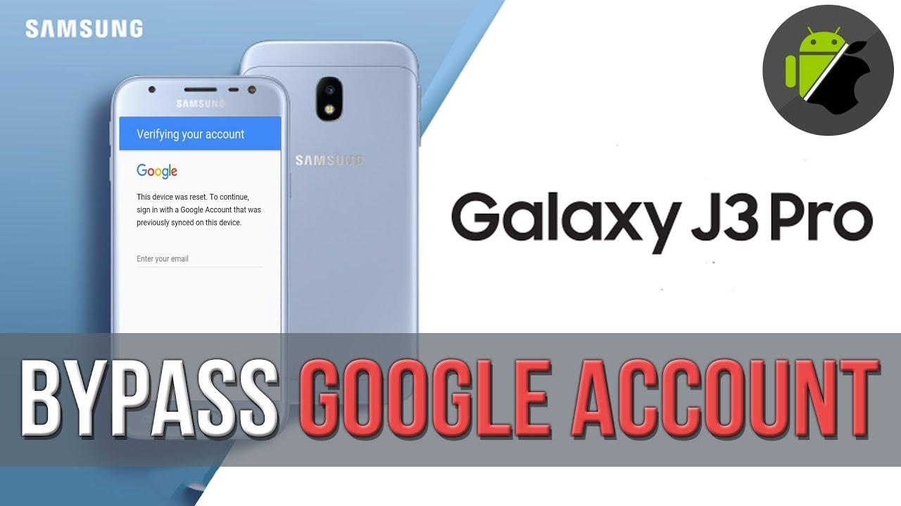 Bypass Frp Google Account Samsung J3 Pro 2017 J330g J330f J3300