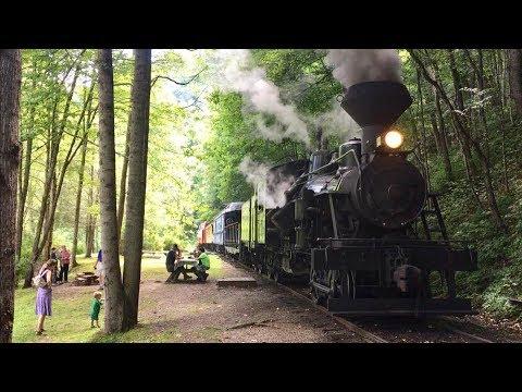 Durbin & Greenbrier Valley Railroad, Heisler Steam Locomotive Ride!