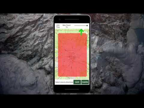 Gaia GPS - Download Maps for Offline Use (Android) - YouTube