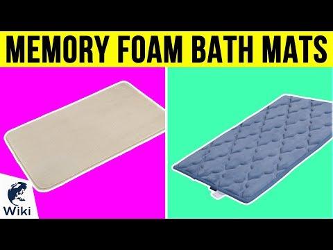 10 Best Memory Foam Bath Mats 2019