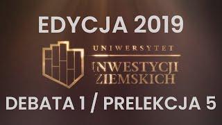 Zysk z inwestycji - czas i perspektywa, najlepsze praktyki. Uniwersytet Inwestycji Ziemskich 2019