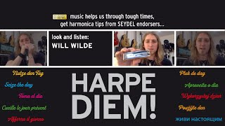 Harpe Diem! Learning to play throat vibrato with Will Wilde (UK) - SEYDEL