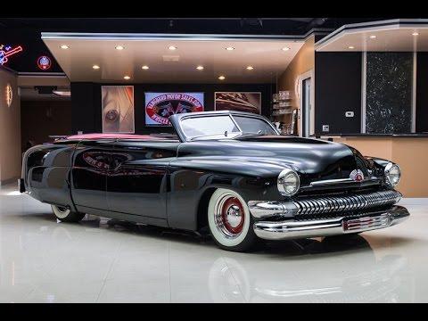 2016 Cadillac Convertible >> 1951 Mercury Custom Lead Sled For Sale - YouTube