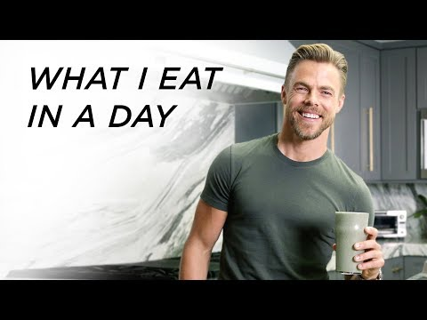 What I Eat in a Day  Derek Hough Life in Motion