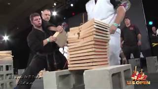 Saturday Breaking Highlights at 2017 U S  Open World Martial Arts Tournament