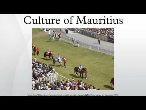 Culture of Mauritius