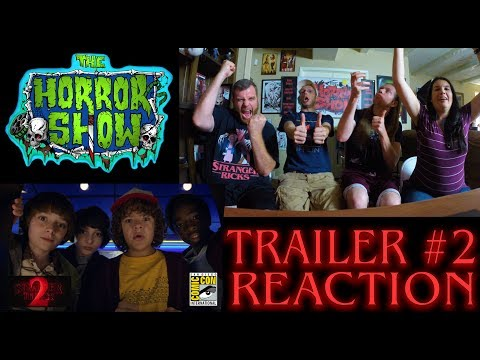 Stranger Things 2017 SDCC Netflix Season 2 Trailer #2 Reaction - The Horror Show