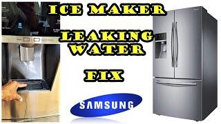 Samsung Refrigerator leaking w…