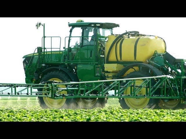 John Deere | R4140i / R4150i PowrSpray : Hastighedskontrol