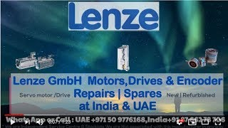 Lenze Servo Motor Repair in India UAE - Encoder Alignment | Resolver Adjust
