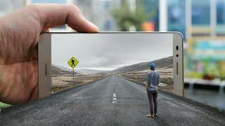3D Out of Road manipulation | picsart tutorial | 2017