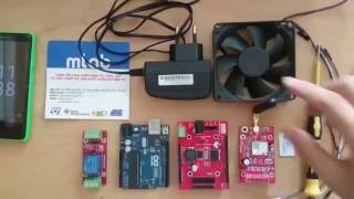 Sim800C Shield V3.1 Video
