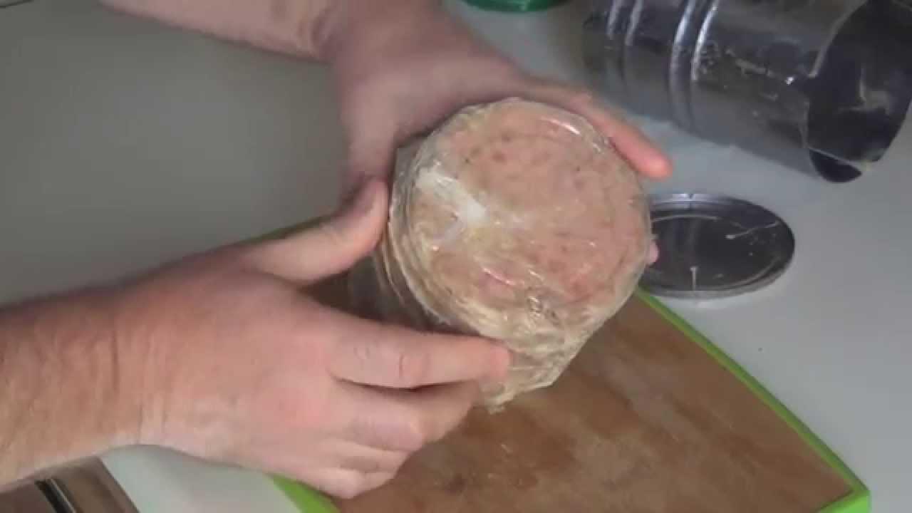 как приготовить ветчину в ветчиннице в духовке