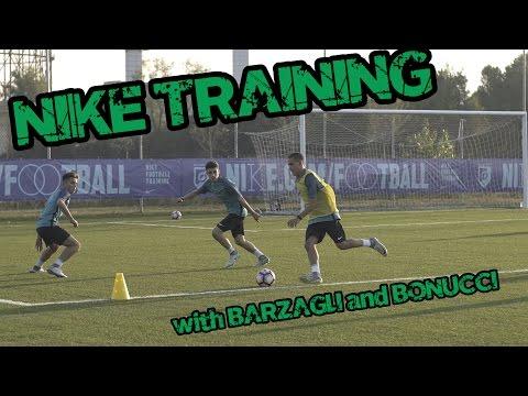 Nike Training w/ Barzagli and Bonucci | Footballerz Italy