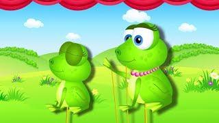 Przygody malej żabki - bajkowe piosenki dla dzieci