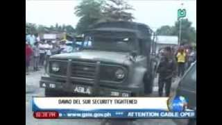 NewsLife: Davao Del Sur security tightened || March 12, 2014