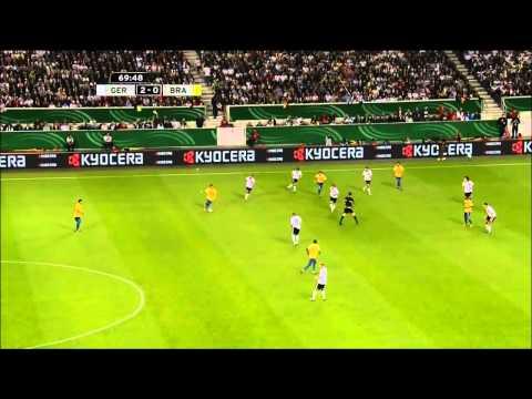 เยอรมัน 3-2 บราซิล  อุ่นเครื่อง