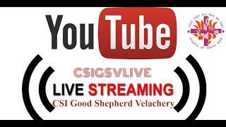 CSIGSV LIVE Stream #May2020 | 31-May-2020 - 8:30 am | Sunday Morning Tamil Service