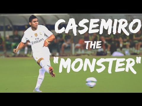 "Casemiro - The ""MONSTER"" (Goals , Skills, Tackles & Assists) 2015/16 