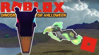 Roblox Dinosaur Simulator Halloween - The Abrasive Giganotosaurus Remake! (Progress!!)