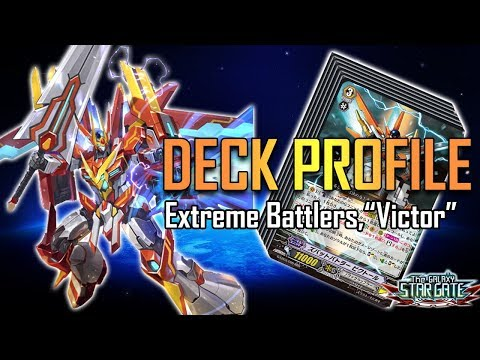 Cardfight!! Vanguard Deck Profile : Zubat Battler, Victor (February 2018)