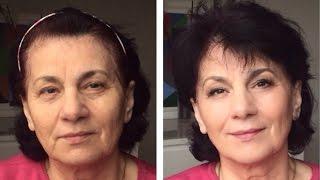 видео Возрастной макияж для зрелых женщин