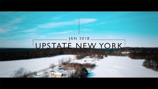 Upstate New York | 4K | Cinematic | DJI Mavic Pro | Sony RX10M2