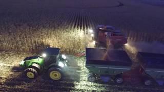 North West Iowa 2017 Corn Harvest: Drone