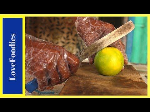 AMAZING FRUIT JUICE of Oranges | Amazing Fruits Cutting Skills | Indian Street Food In 2018