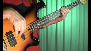 Boney M - Daddy Cool - Bass Cover