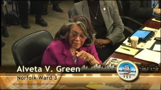Work 03/04/14 Session - Norfolk City Council (voting mtg.)(00:20 AGENDA OVERVIEW Presenter: Marcus D. Jones, City Manager 01:54 COUNCIL INTERESTS 03:08 GENERAL ASSEMBLY UPDATE Presenter: Bryan ..., 2014-03-05T00:54:53.000Z)