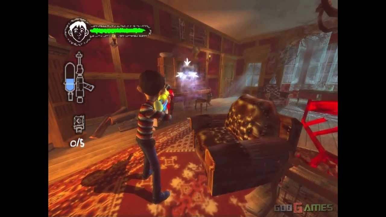 Monster House - Gameplay PS2 HD 720P - YouTube