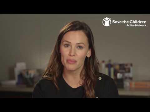 Jennifer Garner Says Let's Vote for Kids