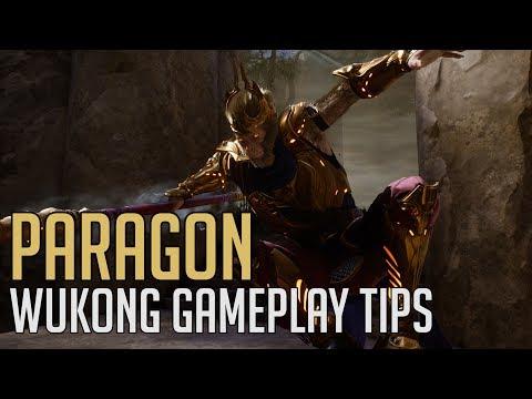 Paragon - Wukong Gameplay and Ability Tips (Royal Wukong Skin)